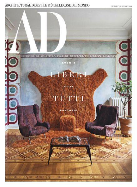 AD Architectural Digest Italia – giugno 2021