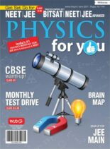 Physics For You – June 2021