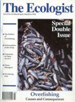 Resurgence & Ecologist – Ecologist, Vol 25 N 2-3 – Mar-Apr, May-Jun 1995