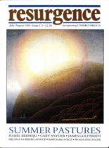 Resurgence & Ecologist – Resurgence, 171 – July-August 1995