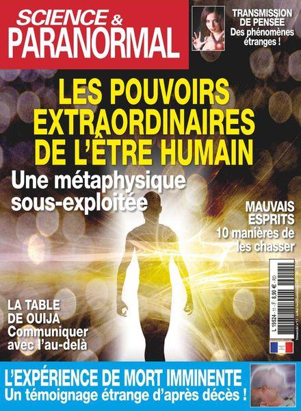 Science & Paranormal – Juillet-Septembre 2021