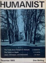 New Humanist – The Humanist, December 1965