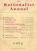 New Humanist – The Rationalist Annual, 1965