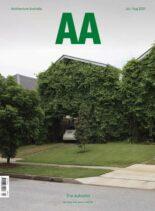 Architecture Australia – July-August 2021