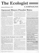 Resurgence & Ecologist – Campaigns & Updates January-February 1995