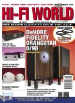 Hi-Fi World – August 2021