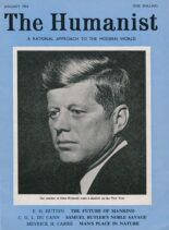 New Humanist – The Humanist, January 1964