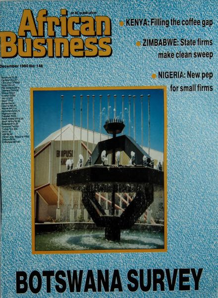 African Business English Edition – December 1990