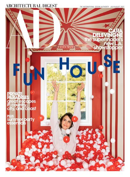 Architectural Digest USA – July 2021