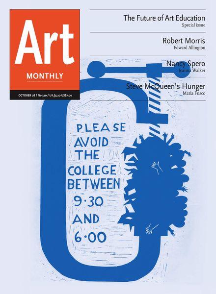Art Monthly – October 2008