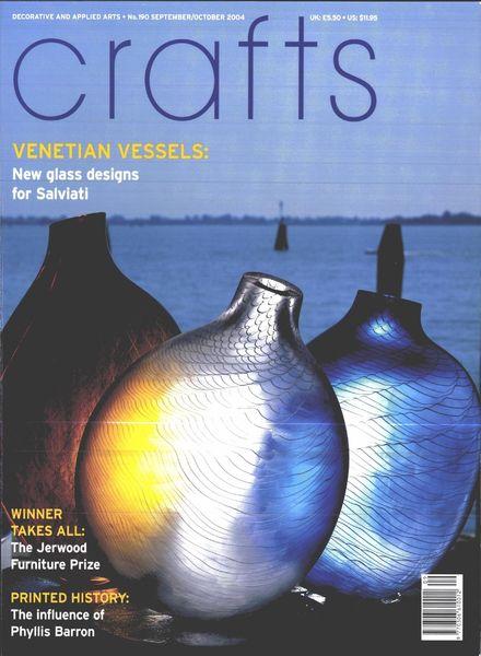 Crafts – September-October 2004