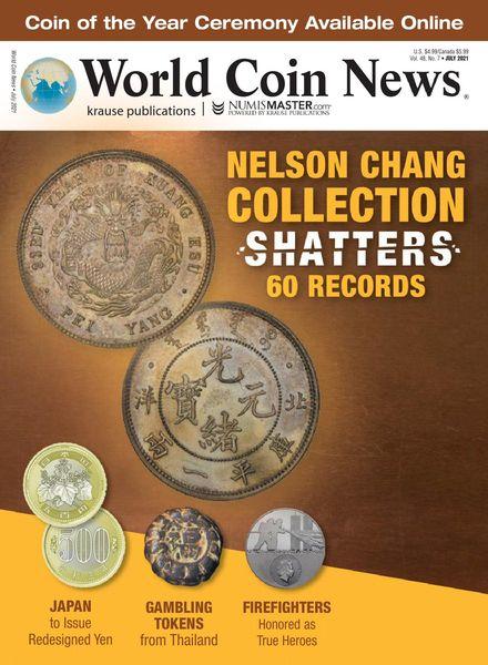 World Coin News – July 2021