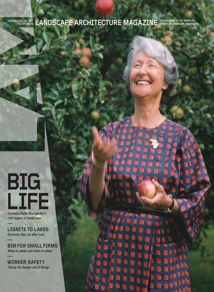 Landscape Architecture Magazine USA – July 2021