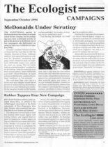 Resurgence & Ecologist – Campaigns September-October 1994