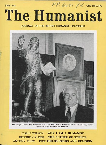 New Humanist – The Humanist, June 1964