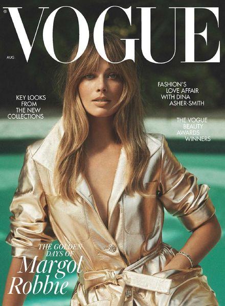 British Vogue – August 2021