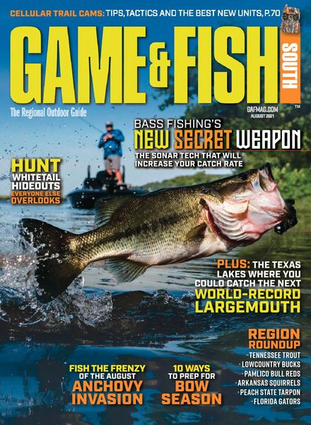 Game & Fish South – August 2021