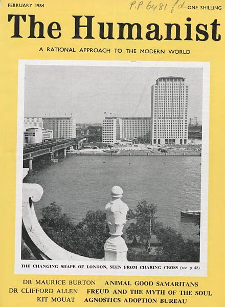New Humanist – The Humanist, February 1964