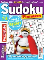 PuzzleLife Sudoku Fiendish – 01 July 2021