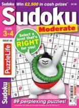 PuzzleLife Sudoku Moderate – July 2021
