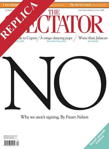 The Spectator – 23 March 2013