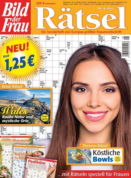 Bild der Frau Ratsel – August 2021