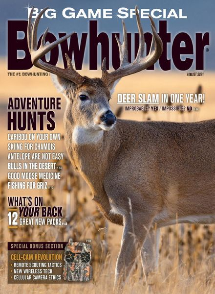 Bowhunter – August 2021
