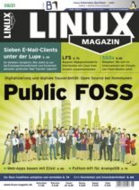 Linux Magazin germany – August 2021
