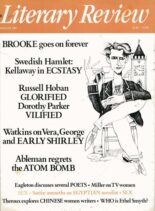 Literary Review – August 1987