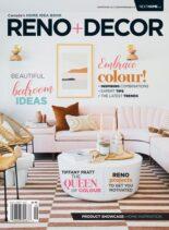 Reno + Decor – August-September 2021