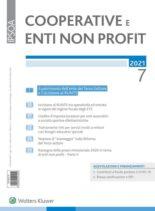 Cooperative e enti non profit – Luglio 2021