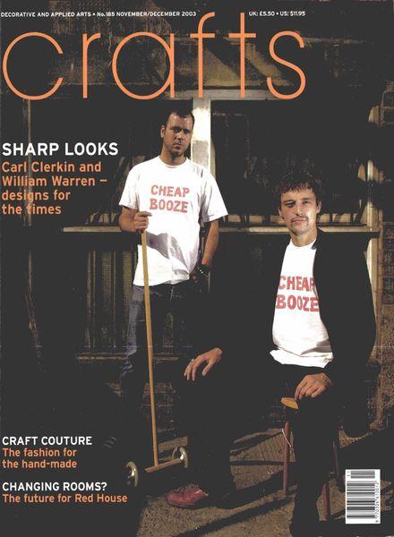 Crafts – November-December 2003
