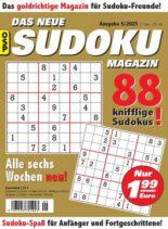 Das Neue Sudoku – Nr.5 2021