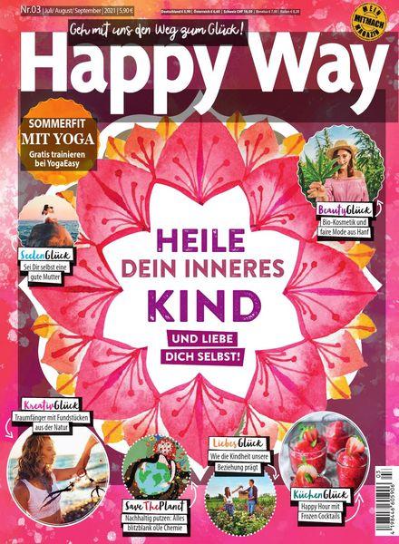 Happy Way – Juli-September 2021