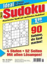Ideal Sudoku – 18 Juni 2021