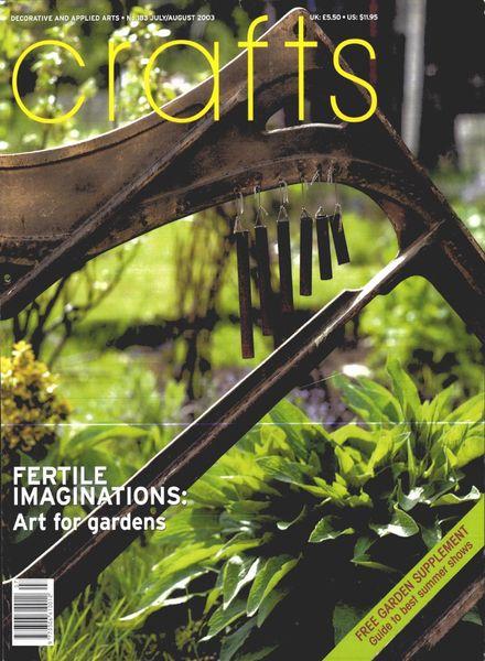 Crafts – July-August 2003
