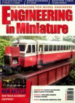 Engineering in Miniature – August 2011