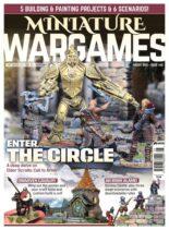 Miniature Wargames – August 2021