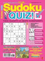 Sudoku Quiz – luglio 2021