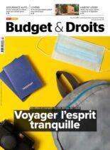 Test Achats Budget & Droits – Juillet-Aout 2021