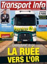 Transport Info – 9 Juillet 2021
