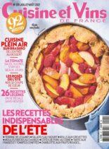 Cuisine et Vins de France – juillet 2021