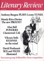 Literary Review – August 1986