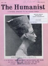 New Humanist – The Humanist, April 1963