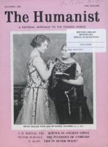 New Humanist – The Humanist, December 1962
