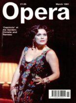 Opera – March 1991
