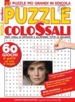 Puzzle Colossali – agosto 2021