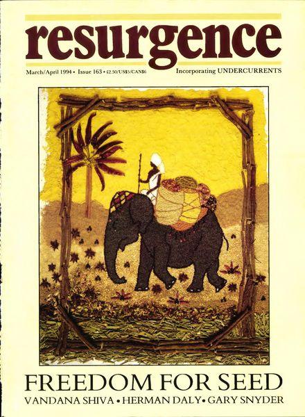 Resurgence & Ecologist – Resurgence, 163 – Mar-Apr 1994