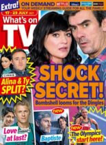 What's on TV – 17 July 2021
