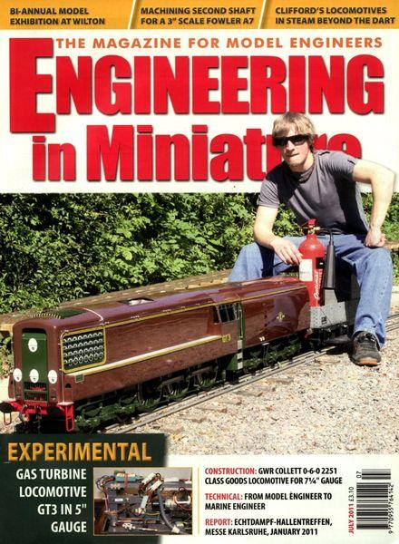 Engineering in Miniature – July 2011